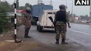 जम्मू-कश्मीर में 5 आतंकी ढेर, A+++ कैटेगरी का मोस्ट वांटेड पैडर भी मारा गया