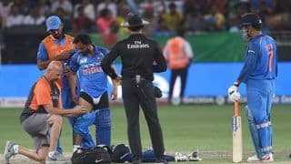 Asia Cup 2018 India vs Bangladesh Finals: Hero For Team India Kedar Jadhav Again Down With Hamstring Problem