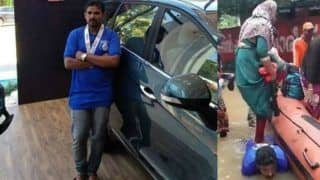 Kerala Floods: New Car Gifted to Volunteer Who Used His Back to Help Women Climb The Rescue Boat