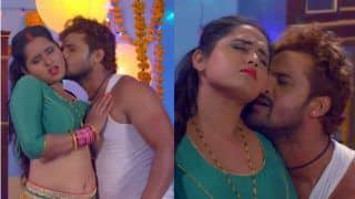Bhojpuri Hot Couple Khesari Lal Yadav And Kajal Raghwani's Sensuous Dance in Khoji Naa Balamua Diya Baari is Going Viral, Watch