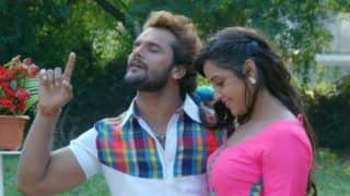 Bhojpuri Actors Khesari Lal Yadav-Kajal Raghwani's Hot And Sensuous Dance in Dupatta Aasmani is Unmissable - Watch