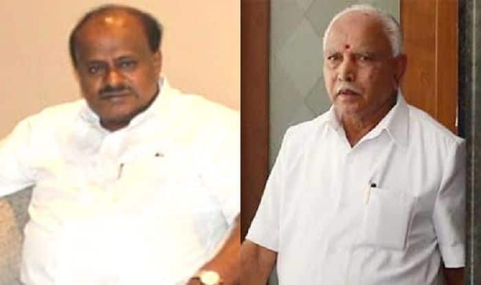 Karnataka: Operation Lotus Still on, Alleges Chief Minister HD Kumaraswamy; Yeddyurappa Denies BJP' Involved in Horse-trading