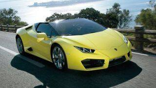 Lamborghini Huracan RWD Spyder launched; price in India at INR 3.45 crore