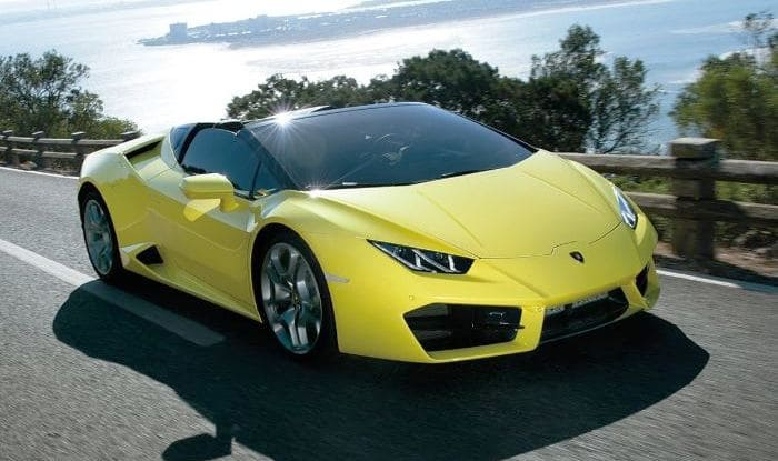 Lamborghini Huracan Rwd Spyder Launched Price In India At Inr 3 45