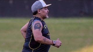 Diego Maradona Arrives to Coach Second League Mexican Team