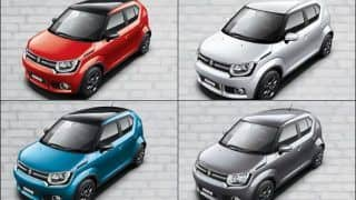 Maruti Ignis specification, variant details explained