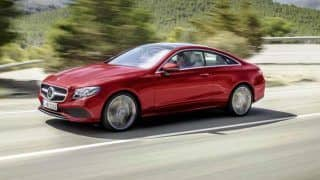 Mercedes-Benz E-Class Coupe unveiled; launch next year