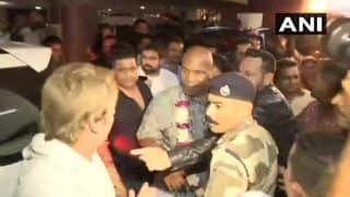 Mike Tyson Arrives in Mumbai to Inaugurate Kumite 1 League: All You Need to Know About His Maiden India Visit