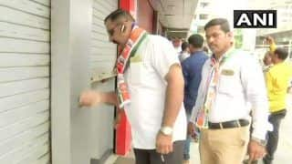 Bharat Bandh: MNS Shuts Down Shops in Mumbai's Parel; Cong Leaders Sanjay Nirupam, Ashok Chavan Detained by Police