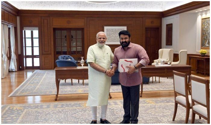 PM Modi and Mohanlal