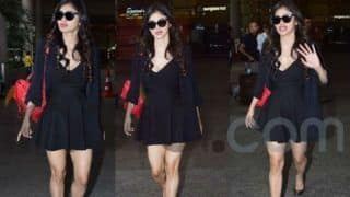 Mouni Roy Looks Sexy in Black as She Jets Out of Airport in Style; Check Her Latest Pics
