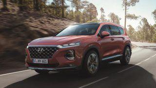 New Hyundai Santa Fe 2018 showcased at Geneva Motor Show 2018