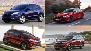 Upcoming Honda Cars in India in 2017-18; Honda HR-V, New-Gen Civic, CR-V & More