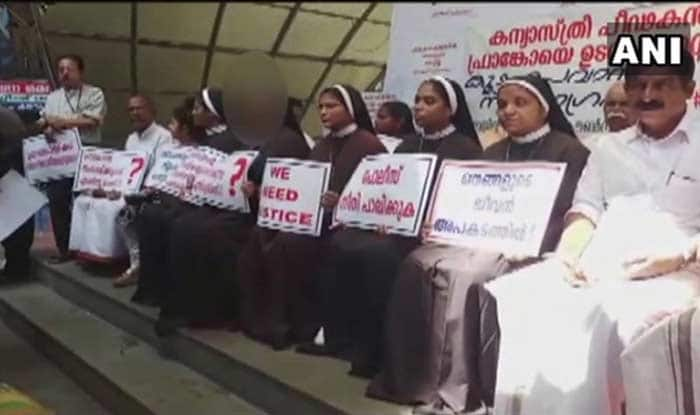 Kerala Nun Rape Case: Transfer Orders Given to Four NunsFor Allegedly Campaigning Against Franco Mulakkal Cancelled by Church