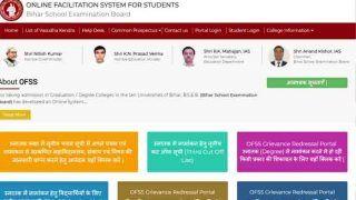 OFSS Bihar Intermediate Admission 2nd Merit List 2018: ofssbihar.in पर दूसरी मेरिट लिस्ट जारी, ऐसे चेक करें