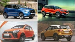 Upcoming Cars to Launch in India this Festive Period: Ford EcoSport Facelift, Maruti Celerio X, Renault Captur, Mahindra KUV100 Facelift