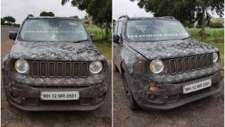 Jeep Renegade 2017 Interior Details Leaked; Price in India Likely to Start From INR 10 Lakh