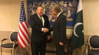 रिश्तों में तनाव के बीच पाकिस्तान पहुंचे US विदेश मंत्री पोम्पिओ, इमरान खान से भी कर सकते हैं मुलाकात