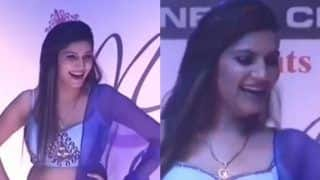 Haryanvi Hottie And Chori 96 Fame Sapna Choudhary Kills With Her Gorgeous Looks as She Walks The Ramp, Watch