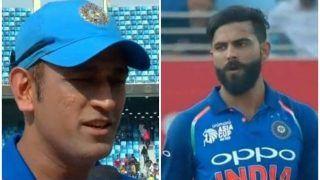 धोनी की 'पुरानी बात' को जडेजा ने दिल पर लिया, इसलिए टाई हुआ अफगानिस्तान से मैच!