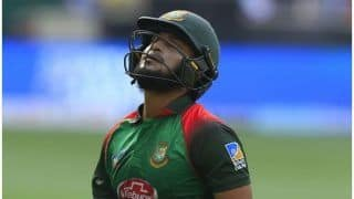 भारत के खिलाफ फाइनल से पहले बांग्लादेश का बड़ा विकेट गिरा, इंजरी ने किया शाकिब को 'आउट'