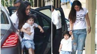 Taimur Ali Khan Twins With Mommy Kareena Kapoor Khan After Matching Outfits With Daddy Saif Ali Khan on The Badminton Court