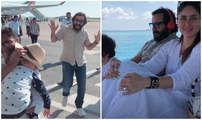Here's where Saif Ali Khan & Kareena Kapoor Khan are now vacationing