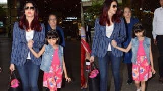 Aishwarya Rai Bachchan Walks Hand-in-Hand With Daughter Aaradhya, Gets Trolled