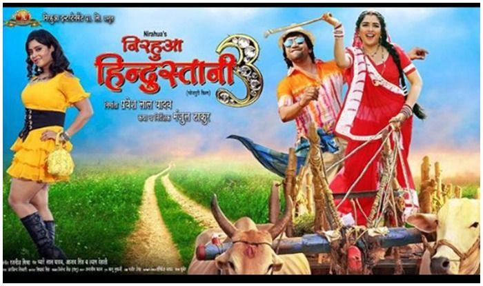 Bhojpuri Hot Couple Nirahua Aka Dinesh Lal Yadav–Aamrapali Dubey's Nirahua Hindustani 3 Crosses Over 15 Million Views on YouTube