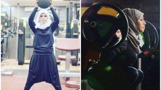 बंदिशें तोड़ आगे बढ़ती हिजाब वाली बॉडी बिल्डर, अब तुर्की में लहराएगी परचम