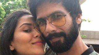 Shahid Kapoor Surprises Mira Rajput With a Lovely Cake on Her Birthday Before Taking Baby Zain Kapoor Home; Check Pics