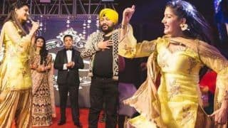 Haryanvi Sensation And Former Bigg Boss Contestant Sapna Choudhary Ditches Her Hot Thumkas, Performs Bhangra With Daler Mehndi, Check