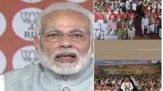 पीएम मोदी का हमला- दूसरों पर कीचड़ उछालना, झूठी खबरें फैलाकर गुमराह करना कांग्रेस का एकमात्र एजेंडा
