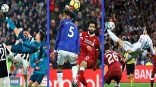 Mohamed Salah's Solo Goal Wins Best Goal of The Year 'Puskas' Award Over Cristiano Ronaldo And Gareth Bale's Acrobatic Goals, Fans Dissent--WATCH