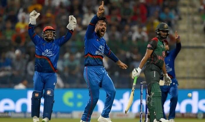 Birthday boy Rashid stars as Afghanistan upset Bangladesh