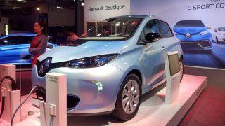Auto Expo 2018: Renault Zoe EV & Zoe e-Sport Concept Showcased in India