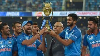 Asia Cup 2018 Triumph a Reward For All The Hardwork Throughout The Tournament: India Captain Rohit Sharma