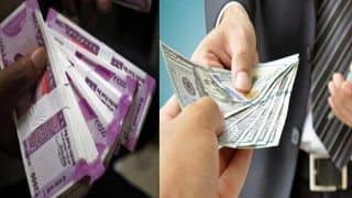 Rupee Slips 33 Paise to 72.96 Against US dollar