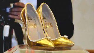 प्राइवेट जेट से भी महंगे हैं ये बेशकीमती जूते, कीमत है 1,23,36,05,000 रुपए