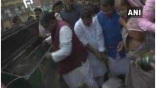 स्वच्छता ही सेवा अभियान: केंद्रीय मंत्री रविशंकर प्रसाद ने थामी झाड़ू, डिप्टी सीएम भी सफाई करने उतरे