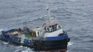 बंगाल जा रहे मालवाहक जहाज पर हुआ हादस, गंगा में डूबे 8 ट्रक, कई लोग लापता