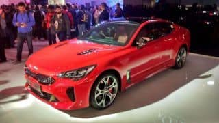 Auto Expo 2018: New Kia Stinger Break Covers; Launch Date, Price in India, Specs, Features