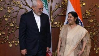 India Will Continue to Buy Oil From Tehran: Iranian Foreign Minister After Meeting With Sushma Swaraj