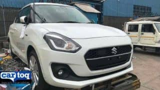 New Maruti Suzuki Swift 2018 First Spy Images in India Leaked; Launch Next Year at Auto Expo