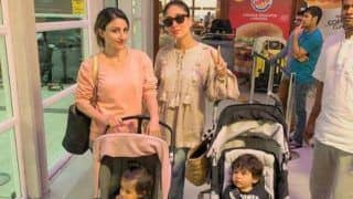 Taimur Ali Khan, Inaaya Naumi Khemu Are Back in Mumbai With Kareena and Soha After Maldives Vacation, Check Pic