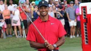 Tiger Woods Wins Tour Championship in Atlanta, His First Title in Five Years