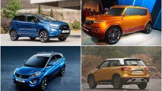 Top 5 upcoming Sub-Compact SUVs in India in 2017-18; New Ford EcoSport, Maruti Brezza Petrol, Tata Nexon AMT, Hyundai Carlino