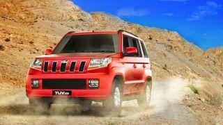 New longer Mahindra TUV model spied