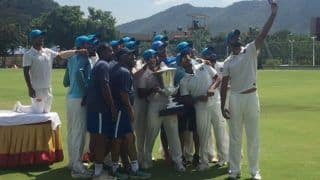 India Blue Trounce India Red to Win Duleep Trophy