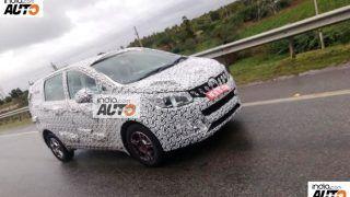 Mahindra U321 MPV (Toyota Innova Crysta rival) spied testing alongside TUV500; images, price & interiors